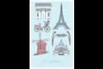 Les gabarits Fêtes à Paris pour votre prochain événement Reliures - gabarit prédéfini. <br/>Utilisez notre logiciel Avery Design & Print Online pour personnaliser facilement la conception.