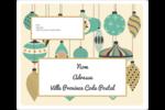 Motif de décorations Étiquettes D'Adresse - gabarit prédéfini. <br/>Utilisez notre logiciel Avery Design & Print Online pour personnaliser facilement la conception.