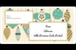 Motif de décorations Étiquettes de classement écologiques - gabarit prédéfini. <br/>Utilisez notre logiciel Avery Design & Print Online pour personnaliser facilement la conception.
