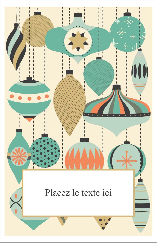 """8½"""" x 5"""" Cartes Et Articles D'Artisanat Imprimables - Motif de décorations"""