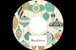 Motif de décorations Étiquettes Pour Médias - gabarit prédéfini. <br/>Utilisez notre logiciel Avery Design & Print Online pour personnaliser facilement la conception.