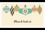 Motif de décorations Carte d'affaire - gabarit prédéfini. <br/>Utilisez notre logiciel Avery Design & Print Online pour personnaliser facilement la conception.