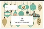 Motif de décorations Étiquettes d'expédition - gabarit prédéfini. <br/>Utilisez notre logiciel Avery Design & Print Online pour personnaliser facilement la conception.