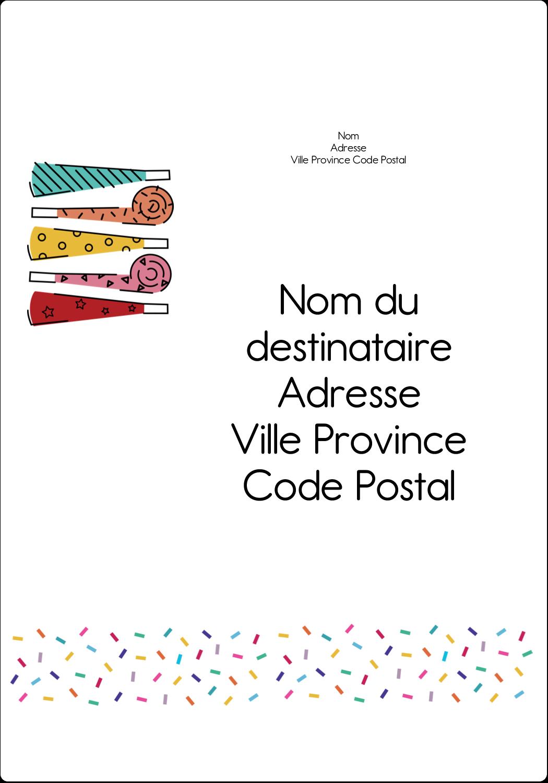 Les gabarits Trompettes pour votre prochain projet des Fêtes Étiquettes D'Adresse - gabarit prédéfini. <br/>Utilisez notre logiciel Avery Design & Print Online pour personnaliser facilement la conception.