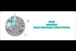 Les gabarits Boule disco pour votre prochain projet Étiquettes d'adresse - gabarit prédéfini. <br/>Utilisez notre logiciel Avery Design & Print Online pour personnaliser facilement la conception.
