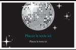 Les gabarits Boule disco pour votre prochain projet Cartes de souhaits pliées en deux - gabarit prédéfini. <br/>Utilisez notre logiciel Avery Design & Print Online pour personnaliser facilement la conception.