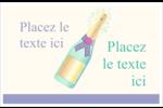 Les gabarits Bouteille de champagne pour votre prochain projet Cartes de souhaits pliées en deux - gabarit prédéfini. <br/>Utilisez notre logiciel Avery Design & Print Online pour personnaliser facilement la conception.