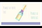 Les gabarits Bouteille de champagne pour votre prochain projet Carte d'affaire - gabarit prédéfini. <br/>Utilisez notre logiciel Avery Design & Print Online pour personnaliser facilement la conception.