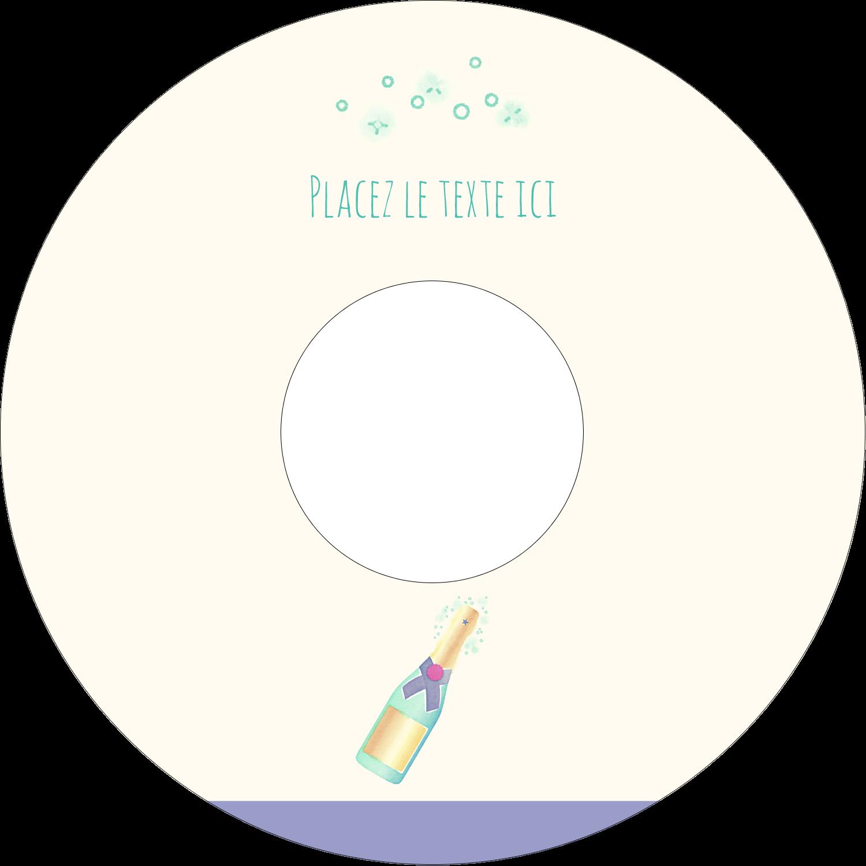 Les gabarits Bouteille de champagne pour votre prochain projet Étiquettes Pour Médias - gabarit prédéfini. <br/>Utilisez notre logiciel Avery Design & Print Online pour personnaliser facilement la conception.