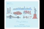 Les gabarits Fêtes à New York pour votre prochain projet Étiquettes D'Adresse - gabarit prédéfini. <br/>Utilisez notre logiciel Avery Design & Print Online pour personnaliser facilement la conception.