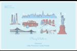 Les gabarits Fêtes à New York pour votre prochain projet Étiquettes d'expédition - gabarit prédéfini. <br/>Utilisez notre logiciel Avery Design & Print Online pour personnaliser facilement la conception.