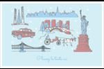 Les gabarits Fêtes à New York pour votre prochain projet Cartes de souhaits pliées en deux - gabarit prédéfini. <br/>Utilisez notre logiciel Avery Design & Print Online pour personnaliser facilement la conception.