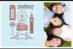 Les gabarits Fêtes à Londres pour votre prochain projet Cartes de souhaits pliées en deux - gabarit prédéfini. <br/>Utilisez notre logiciel Avery Design & Print Online pour personnaliser facilement la conception.