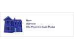 Maison hantée d'Halloween à la craie Intercalaires / Onglets - gabarit prédéfini. <br/>Utilisez notre logiciel Avery Design & Print Online pour personnaliser facilement la conception.