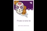 Halloween, jour des Morts Reliures - gabarit prédéfini. <br/>Utilisez notre logiciel Avery Design & Print Online pour personnaliser facilement la conception.