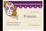 Halloween, jour des Morts Badges - gabarit prédéfini. <br/>Utilisez notre logiciel Avery Design & Print Online pour personnaliser facilement la conception.