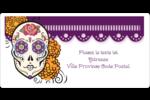 Halloween, jour des Morts Étiquettes de classement écologiques - gabarit prédéfini. <br/>Utilisez notre logiciel Avery Design & Print Online pour personnaliser facilement la conception.