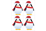 Turn up the cuteness quota on custom projects with pre-designed Holiday Penguin templates.
