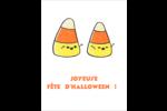 Bonbons de maïs d'Halloween Cartes Et Articles D'Artisanat Imprimables - gabarit prédéfini. <br/>Utilisez notre logiciel Avery Design & Print Online pour personnaliser facilement la conception.