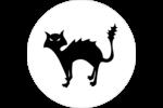 Prime d'Halloween Étiquettes Voyantes - gabarit prédéfini. <br/>Utilisez notre logiciel Avery Design & Print Online pour personnaliser facilement la conception.