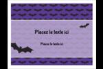 Chauves-souris d'Halloween Cartes Et Articles D'Artisanat Imprimables - gabarit prédéfini. <br/>Utilisez notre logiciel Avery Design & Print Online pour personnaliser facilement la conception.
