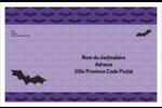 Chauves-souris d'Halloween Étiquettes d'expédition - gabarit prédéfini. <br/>Utilisez notre logiciel Avery Design & Print Online pour personnaliser facilement la conception.