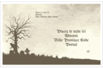 Cimetière d'Halloween Étiquettes d'expédition - gabarit prédéfini. <br/>Utilisez notre logiciel Avery Design & Print Online pour personnaliser facilement la conception.