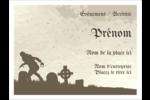 Cimetière d'Halloween Badges - gabarit prédéfini. <br/>Utilisez notre logiciel Avery Design & Print Online pour personnaliser facilement la conception.