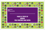 Émoji d'Halloween Étiquettes d'expédition - gabarit prédéfini. <br/>Utilisez notre logiciel Avery Design & Print Online pour personnaliser facilement la conception.