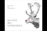Nez rouge  Étiquettes D'Adresse - gabarit prédéfini. <br/>Utilisez notre logiciel Avery Design & Print Online pour personnaliser facilement la conception.