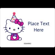 Hello Kitty Birthday