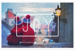 Calque de texte minimaliste Cartes de souhaits pliées en deux - gabarit prédéfini. <br/>Utilisez notre logiciel Avery Design & Print Online pour personnaliser facilement la conception.