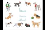 Joyeuses bêtes Badges - gabarit prédéfini. <br/>Utilisez notre logiciel Avery Design & Print Online pour personnaliser facilement la conception.