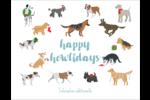 Joyeuses bêtes Cartes Et Articles D'Artisanat Imprimables - gabarit prédéfini. <br/>Utilisez notre logiciel Avery Design & Print Online pour personnaliser facilement la conception.