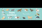 Joyeuses bêtes Affichette - gabarit prédéfini. <br/>Utilisez notre logiciel Avery Design & Print Online pour personnaliser facilement la conception.