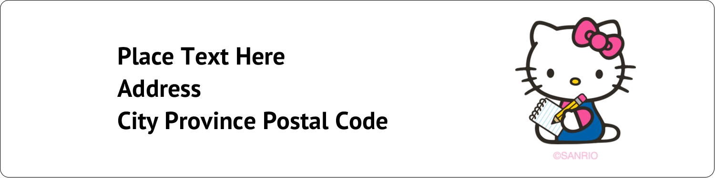 """1"""" x 4"""" Address Label - Take a Note"""