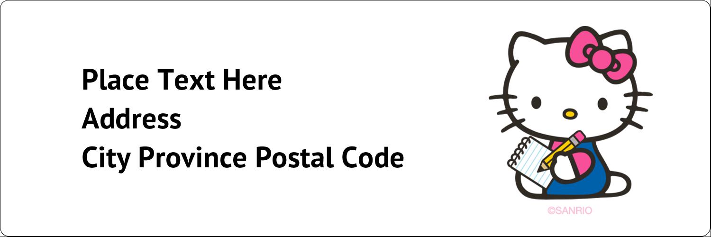 """1⅓"""" x 4"""" Address Label - Take a Note"""