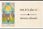 Cartes du tarot pour Halloween Cartes de souhaits pliées en deux - gabarit prédéfini. <br/>Utilisez notre logiciel Avery Design & Print Online pour personnaliser facilement la conception.