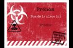 Apocalypse zombie d'Halloween Badges - gabarit prédéfini. <br/>Utilisez notre logiciel Avery Design & Print Online pour personnaliser facilement la conception.