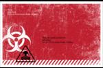 Apocalypse zombie d'Halloween Étiquettes d'expédition - gabarit prédéfini. <br/>Utilisez notre logiciel Avery Design & Print Online pour personnaliser facilement la conception.