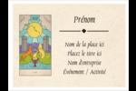Cartes du tarot pour Halloween Badges - gabarit prédéfini. <br/>Utilisez notre logiciel Avery Design & Print Online pour personnaliser facilement la conception.