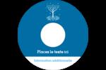 Arbre de Hanoukka Étiquettes Pour Médias - gabarit prédéfini. <br/>Utilisez notre logiciel Avery Design & Print Online pour personnaliser facilement la conception.