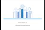 Chandelier bleu de Hanoukka  Badges - gabarit prédéfini. <br/>Utilisez notre logiciel Avery Design & Print Online pour personnaliser facilement la conception.