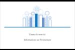 Chandelier bleu de Hanoukka  Étiquettes badges autocollants - gabarit prédéfini. <br/>Utilisez notre logiciel Avery Design & Print Online pour personnaliser facilement la conception.
