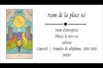 Cartes du tarot pour Halloween Carte d'affaire - gabarit prédéfini. <br/>Utilisez notre logiciel Avery Design & Print Online pour personnaliser facilement la conception.