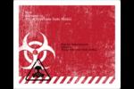 Apocalypse zombie d'Halloween Étiquettes D'Adresse - gabarit prédéfini. <br/>Utilisez notre logiciel Avery Design & Print Online pour personnaliser facilement la conception.