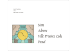 Cartes du tarot pour Halloween Étiquettes D'Adresse - gabarit prédéfini. <br/>Utilisez notre logiciel Avery Design & Print Online pour personnaliser facilement la conception.