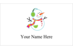 Infuse whimsical holiday cheer into custom projects with pre-designed Snowman templates.
