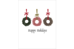 Infuse festive beauty into custom projects with pre-designed Christmas Wreaths templates.