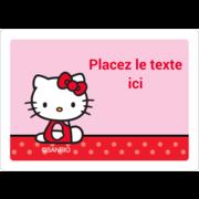 Hello Kitty super mignonne